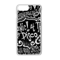 Panic! At The Disco Lyric Quotes Apple Iphone 7 Plus Seamless Case (white) by Samandel
