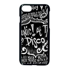 Panic! At The Disco Lyric Quotes Apple Iphone 7 Seamless Case (black)