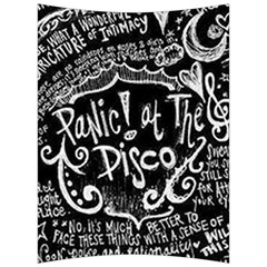 Panic! At The Disco Lyric Quotes Back Support Cushion by Samandel