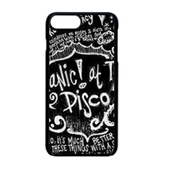 Panic! At The Disco Lyric Quotes Apple Iphone 8 Plus Seamless Case (black) by Samandel
