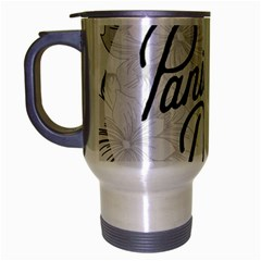 Panic At The Disco Flowers Travel Mug (silver Gray)