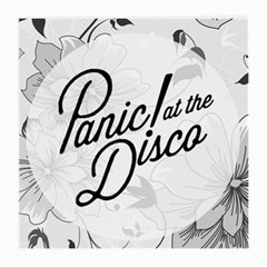 Panic At The Disco Flowers Medium Glasses Cloth (2 Side) by Samandel
