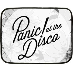 Panic At The Disco Flowers Double Sided Fleece Blanket (mini)  by Samandel