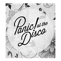 Panic At The Disco Flowers Shower Curtain 66  X 72  (large)  by Samandel