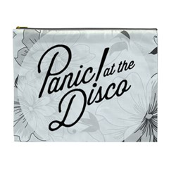 Panic At The Disco Flowers Cosmetic Bag (xl) by Samandel