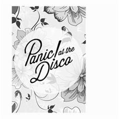 Panic At The Disco Flowers Small Garden Flag (two Sides) by Samandel