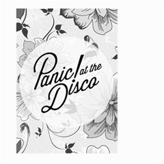 Panic At The Disco Flowers Large Garden Flag (two Sides) by Samandel