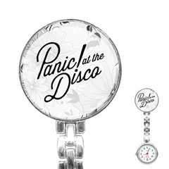 Panic At The Disco Flowers Stainless Steel Nurses Watch by Samandel