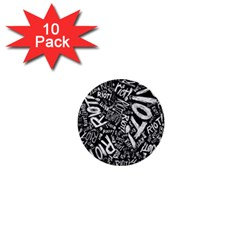 Panic At The Disco Lyric Quotes Retina Ready 1  Mini Buttons (10 Pack)  by Samandel