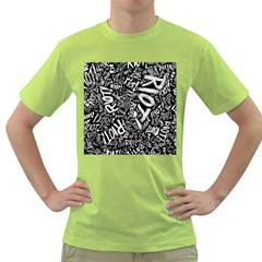 Panic At The Disco Lyric Quotes Retina Ready Green T Shirt