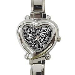 Panic At The Disco Lyric Quotes Retina Ready Heart Italian Charm Watch by Samandel