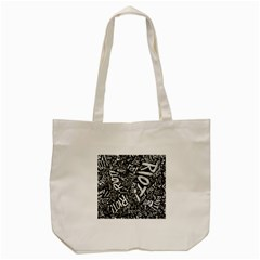 Panic At The Disco Lyric Quotes Retina Ready Tote Bag (cream) by Samandel