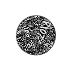 Panic At The Disco Lyric Quotes Retina Ready Hat Clip Ball Marker (4 Pack) by Samandel