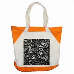 Panic At The Disco Lyric Quotes Retina Ready Accent Tote Bag by Samandel