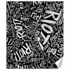 Panic At The Disco Lyric Quotes Retina Ready Canvas 20  X 24   by Samandel