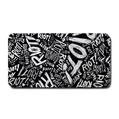 Panic At The Disco Lyric Quotes Retina Ready Medium Bar Mats by Samandel