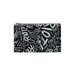 Panic At The Disco Lyric Quotes Retina Ready Cosmetic Bag (small)  by Samandel