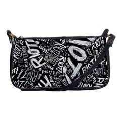 Panic At The Disco Lyric Quotes Retina Ready Shoulder Clutch Bags by Samandel