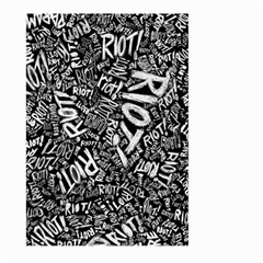 Panic At The Disco Lyric Quotes Retina Ready Large Garden Flag (two Sides) by Samandel