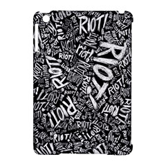Panic At The Disco Lyric Quotes Retina Ready Apple Ipad Mini Hardshell Case (compatible With Smart Cover) by Samandel