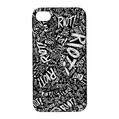 Panic At The Disco Lyric Quotes Retina Ready Apple Iphone 4/4s Hardshell Case With Stand by Samandel