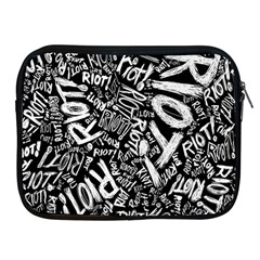 Panic At The Disco Lyric Quotes Retina Ready Apple Ipad 2/3/4 Zipper Cases by Samandel