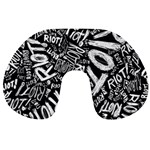 Panic At The Disco Lyric Quotes Retina Ready Travel Neck Pillows Back