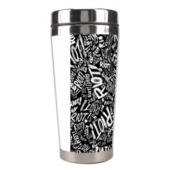 Panic At The Disco Lyric Quotes Retina Ready Stainless Steel Travel Tumblers by Samandel