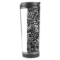 Panic At The Disco Lyric Quotes Retina Ready Travel Tumbler by Samandel