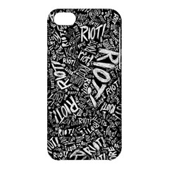 Panic At The Disco Lyric Quotes Retina Ready Apple Iphone 5c Hardshell Case by Samandel