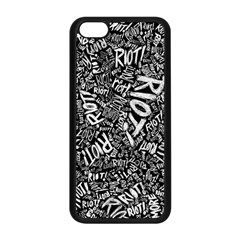 Panic At The Disco Lyric Quotes Retina Ready Apple Iphone 5c Seamless Case (black) by Samandel