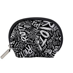 Panic At The Disco Lyric Quotes Retina Ready Accessory Pouches (small)  by Samandel