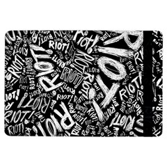 Panic At The Disco Lyric Quotes Retina Ready Ipad Air Flip by Samandel