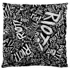 Panic At The Disco Lyric Quotes Retina Ready Standard Flano Cushion Case (one Side) by Samandel