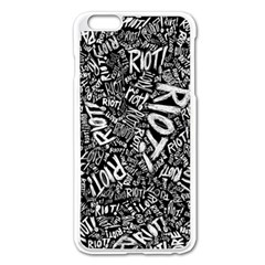 Panic At The Disco Lyric Quotes Retina Ready Apple Iphone 6 Plus/6s Plus Enamel White Case by Samandel