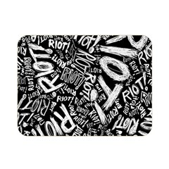 Panic At The Disco Lyric Quotes Retina Ready Double Sided Flano Blanket (mini)  by Samandel