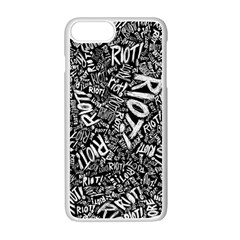 Panic At The Disco Lyric Quotes Retina Ready Apple Iphone 7 Plus Seamless Case (white) by Samandel