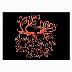 Panic At The Disco   Lying Is The Most Fun A Girl Have Without Taking Her Clothes Large Glasses Cloth (2 Side) by Samandel