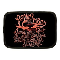 Panic At The Disco   Lying Is The Most Fun A Girl Have Without Taking Her Clothes Netbook Case (medium)  by Samandel