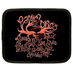 Panic At The Disco   Lying Is The Most Fun A Girl Have Without Taking Her Clothes Netbook Case (xl)  by Samandel