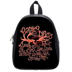 Panic At The Disco   Lying Is The Most Fun A Girl Have Without Taking Her Clothes School Bag (small) by Samandel