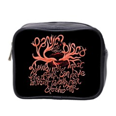 Panic At The Disco   Lying Is The Most Fun A Girl Have Without Taking Her Clothes Mini Toiletries Bag 2 Side by Samandel