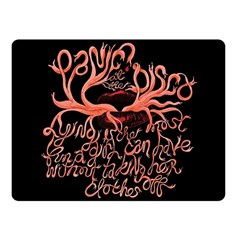 Panic At The Disco   Lying Is The Most Fun A Girl Have Without Taking Her Clothes Fleece Blanket (small) by Samandel