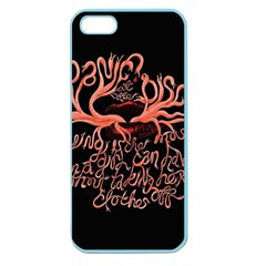 Panic At The Disco   Lying Is The Most Fun A Girl Have Without Taking Her Clothes Apple Seamless Iphone 5 Case (color) by Samandel