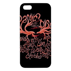 Panic At The Disco   Lying Is The Most Fun A Girl Have Without Taking Her Clothes Iphone 5s/ Se Premium Hardshell Case by Samandel