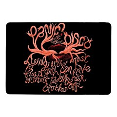 Panic At The Disco   Lying Is The Most Fun A Girl Have Without Taking Her Clothes Samsung Galaxy Tab Pro 10 1  Flip Case by Samandel