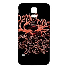 Panic At The Disco   Lying Is The Most Fun A Girl Have Without Taking Her Clothes Samsung Galaxy S5 Back Case (white) by Samandel