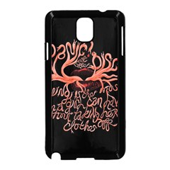 Panic At The Disco   Lying Is The Most Fun A Girl Have Without Taking Her Clothes Samsung Galaxy Note 3 Neo Hardshell Case (black) by Samandel