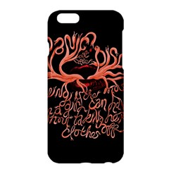 Panic At The Disco   Lying Is The Most Fun A Girl Have Without Taking Her Clothes Apple Iphone 6 Plus/6s Plus Hardshell Case by Samandel
