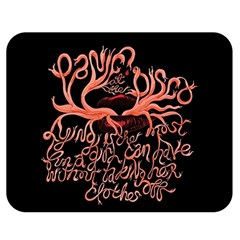 Panic At The Disco   Lying Is The Most Fun A Girl Have Without Taking Her Clothes Double Sided Flano Blanket (medium)  by Samandel